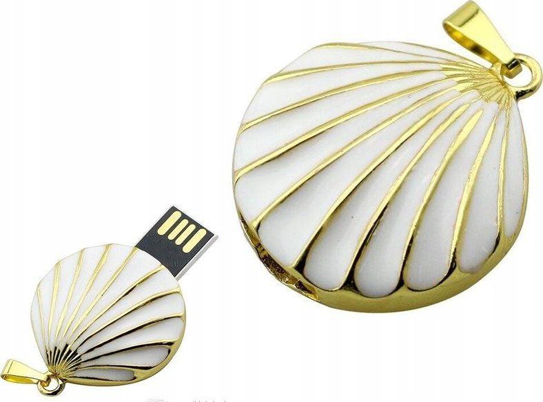 Pendrive Dr. Memory PENDRIVE MUSZELKA PREZENT NASZYJNIK FLASH USB uniwersalny 1