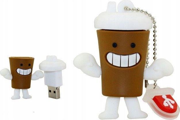Pendrive Dr. Memory PENDRIVE KUBEK Kawy Orbit USB 64GB uniwersalny 1