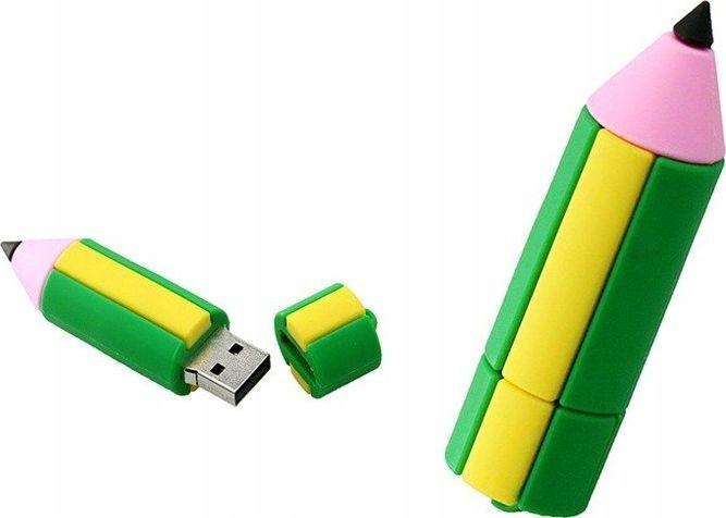 Pendrive Dr. Memory PENDRIVE OŁÓWEK KREDKA USB Flash 64GB uniwersalny 1