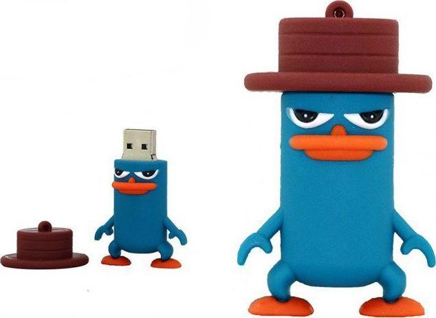 Pendrive Dr. Memory PENDRIVE PEPE AGENT P FERB FINEASZ USB FLASH 64GB uniwersalny 1