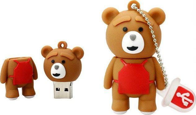 Pendrive Dr. Memory PENDRIVE TEDDY TED Prezent USB 64GB uniwersalny 1