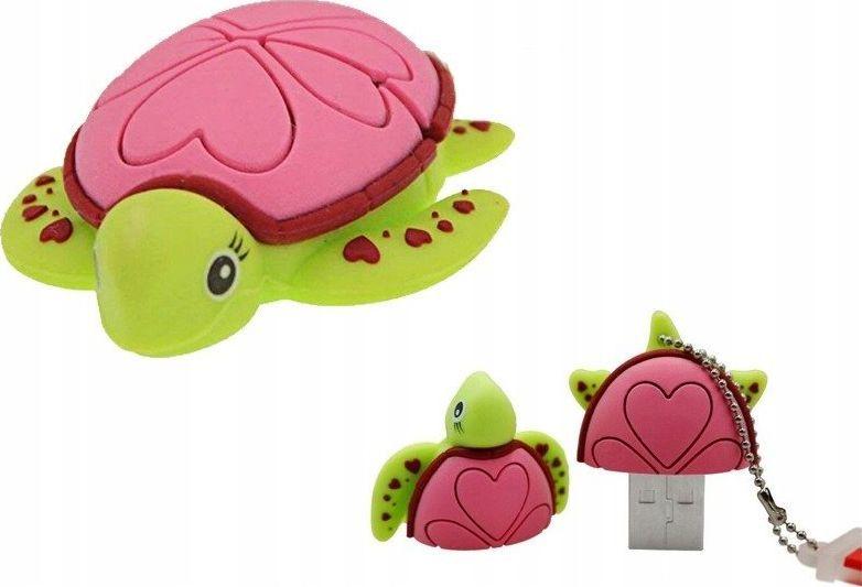 Pendrive Dr. Memory PENDRIVE ŻÓŁW Żółwie Ninja Wodny Zwierzę Gad 64GB uniwersalny 1