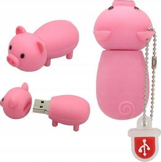 Pendrive Dr. Memory PENDRIVE ŚWINKA PROSIE ŚWINIA PIG PAMIĘĆFLASH 32GB uniwersalny 1