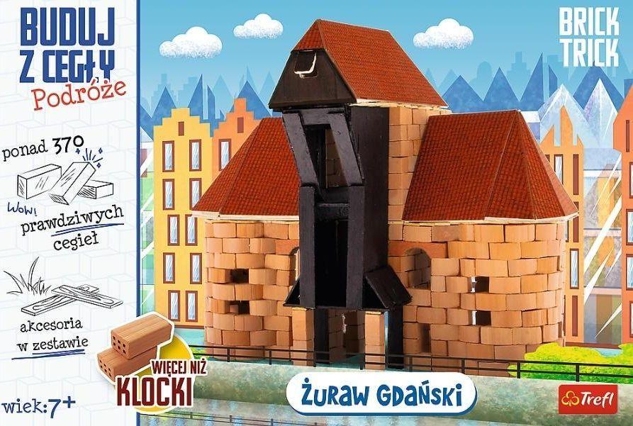 Trefl Brick Trick - Buduj z cegły Żuraw XL TREFL 1