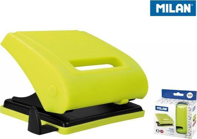 Dziurkacz Milan 15 kartek Żółty (348386) 1