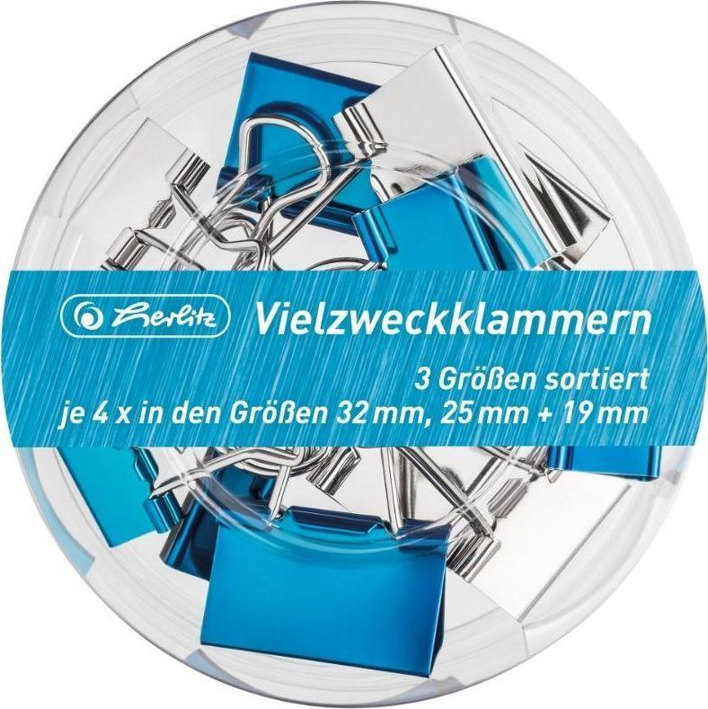 Herlitz Klamry 3 rozmiary Frozen Glam 12szt 1