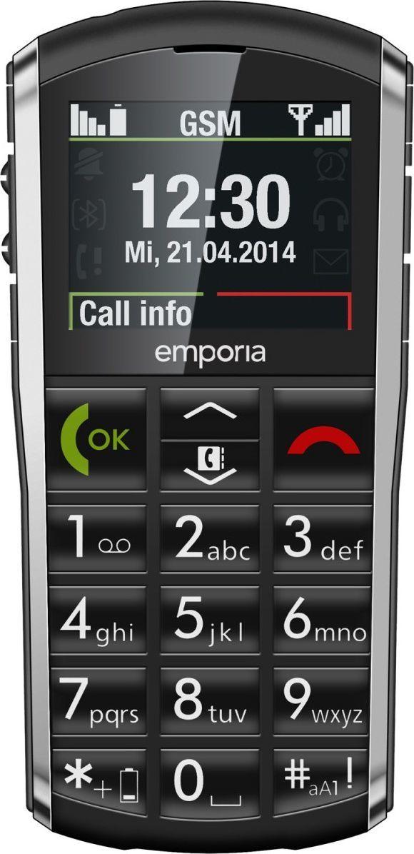 Telefon komórkowy Emporia Pure V25 Czarny 1