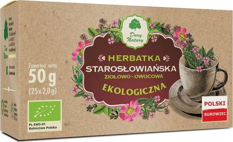 Dary Natury EKO Herbata Starosłowiańska 25x2g 1