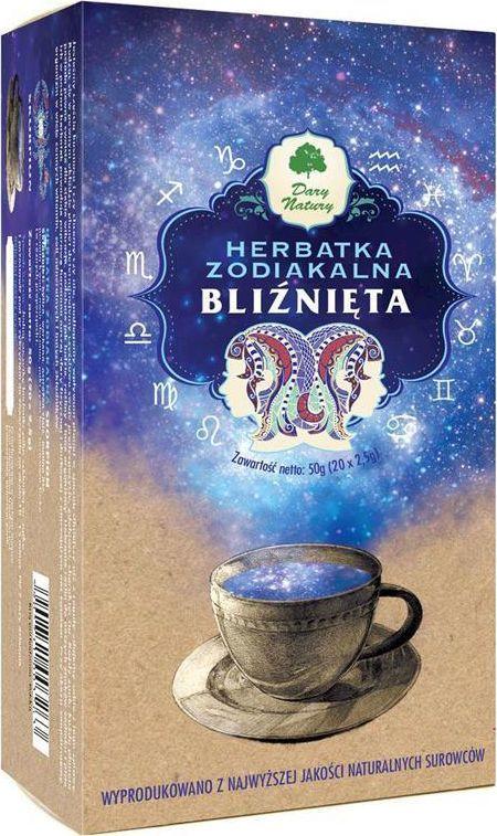 Dary Natury EKO Herbata Zodiakalna BLIŹNIĘTA 20x2,5g 1