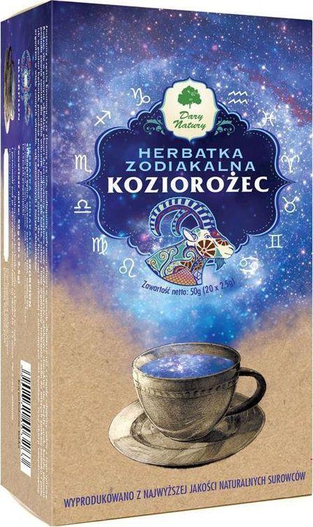 Dary Natury EKO Herbata Zodiakalna KOZIOROŻEC 20x2,5g 1