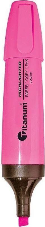 Titanum TITANUM Zakreślacz CLC2119 RÓŻOWY 1
