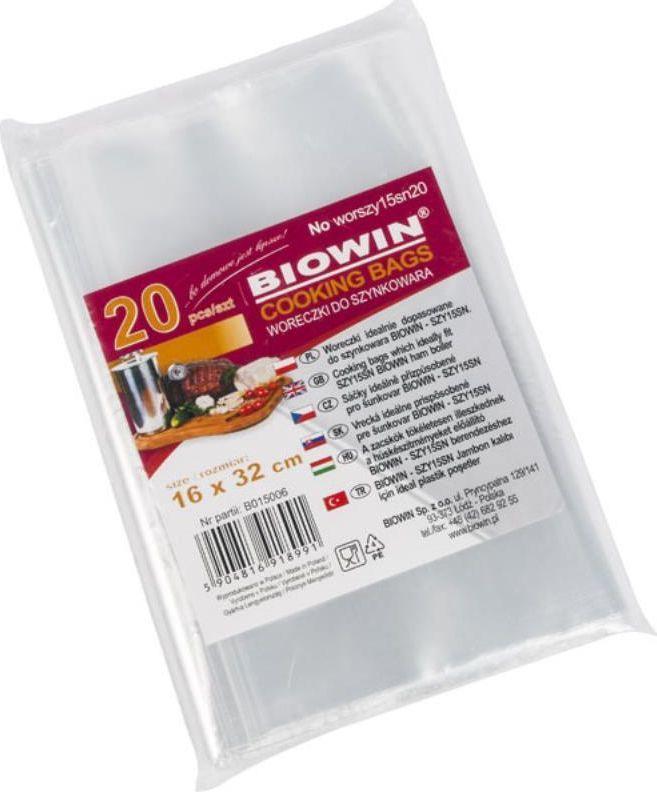Biowin BIOWIN Woreczki do szynkowara 1,5kg - 20 szt. 1
