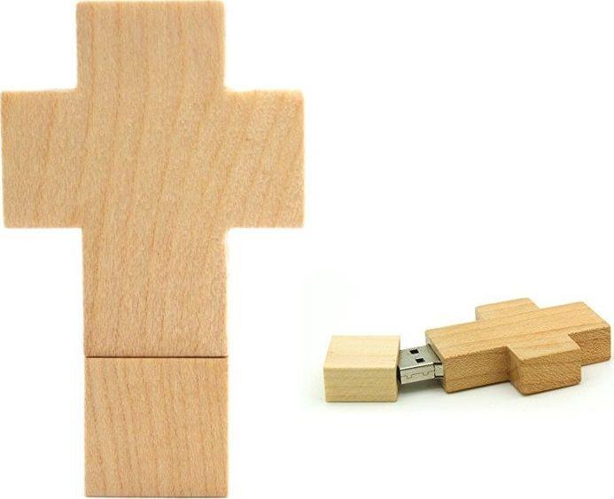 Pendrive Dr. Memory PENDRIVE KRZYŻ Katolicki FLASH 64GB uniwersalny 1