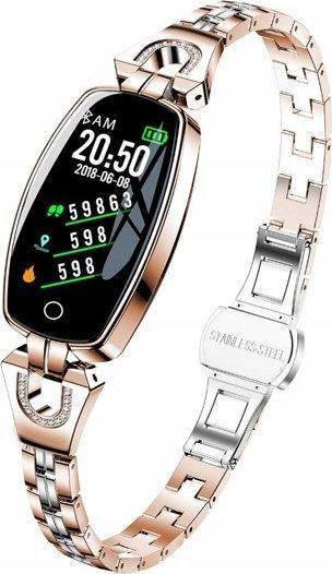Smartband Active Band H8 Złoty 1