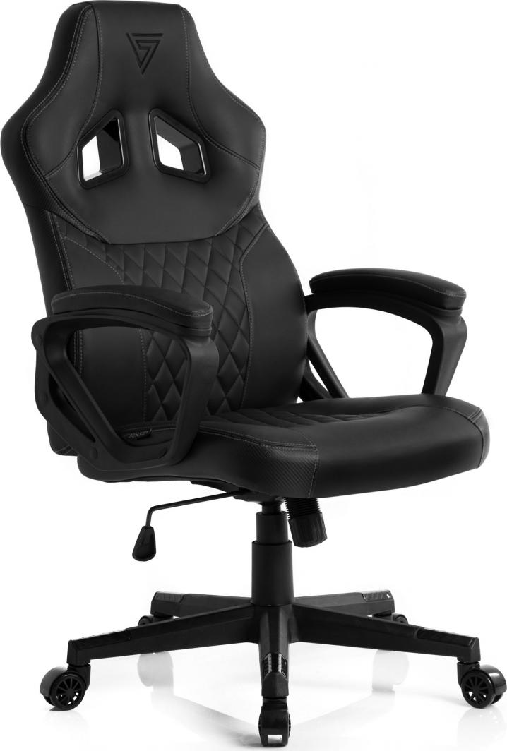 Fotel SENSE7 Druid czarno-szary 1