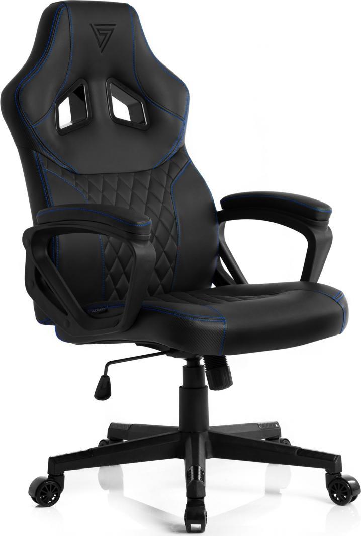 Fotel SENSE7 Druid czarno-niebieski 1