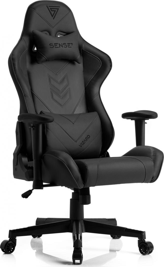 Fotel SENSE7 Vizard czarny 1