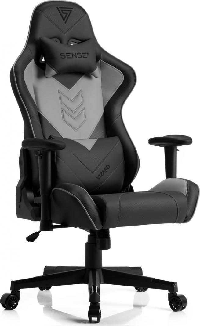 Fotel SENSE7 Vizard czarno-szary 1