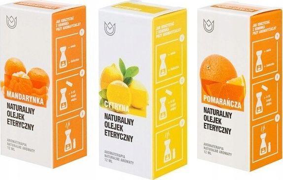 Naturalne Aromaty Naturalne Aromaty zestaw cytrusowy olejków eterycznych 3 szt. x 12 ml 1
