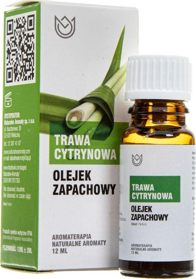 Naturalne Aromaty Naturalne Aromaty olejek zapachowy Trawa Cytrynowa - 12 ml 1