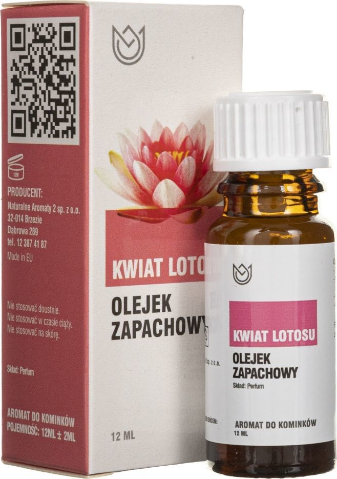 Naturalne Aromaty Naturalne Aromaty olejek zapachowy Kwiat Lotosu - 12 ml 1