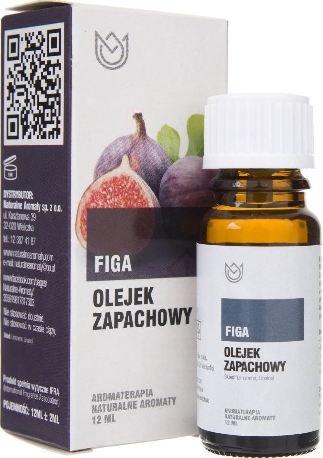 Naturalne Aromaty Naturalne Aromaty olejek zapachowy Figa - 12 ml 1