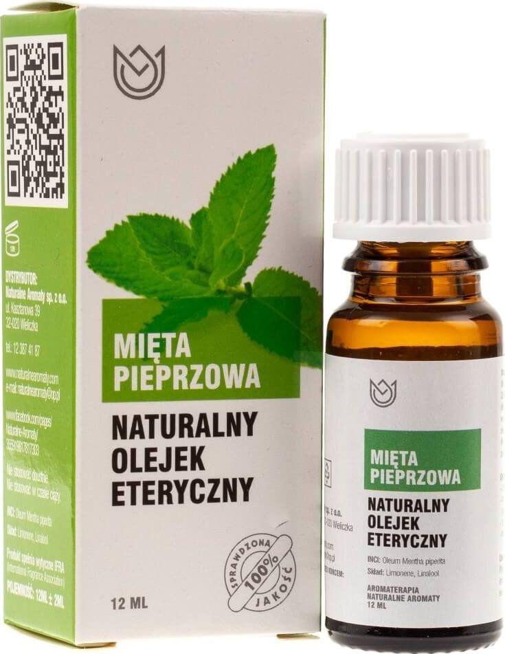 Naturalne Aromaty Naturalne Aromaty olejek eteryczny Mięta pieprzowa - 12 ml 1