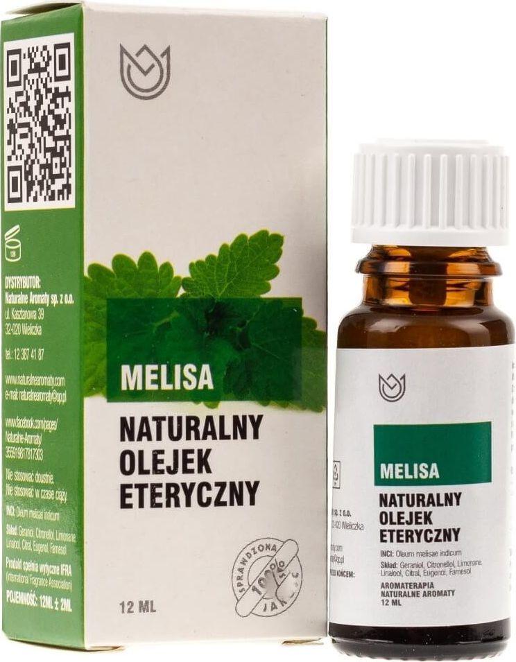 Naturalne Aromaty Naturalne Aromaty olejek eteryczny Melisa - 12 ml 1