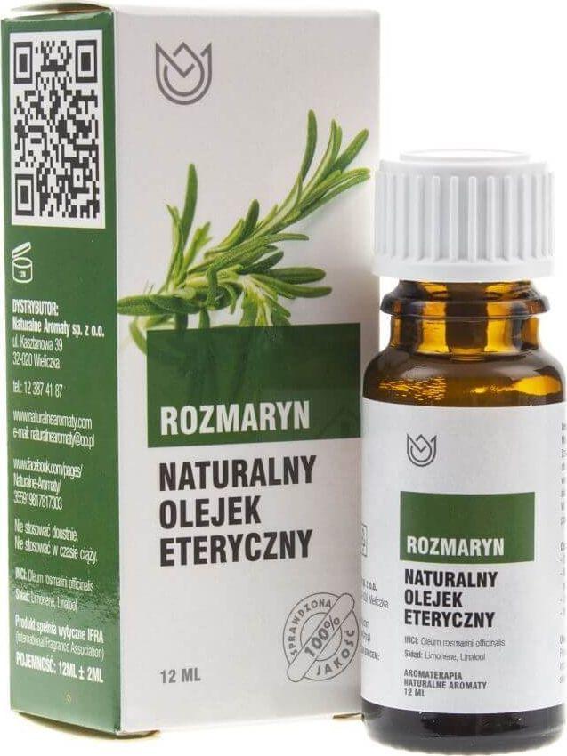 Naturalne Aromaty Naturalne Aromaty olejek eteryczny Rozmaryn - 12 ml 1