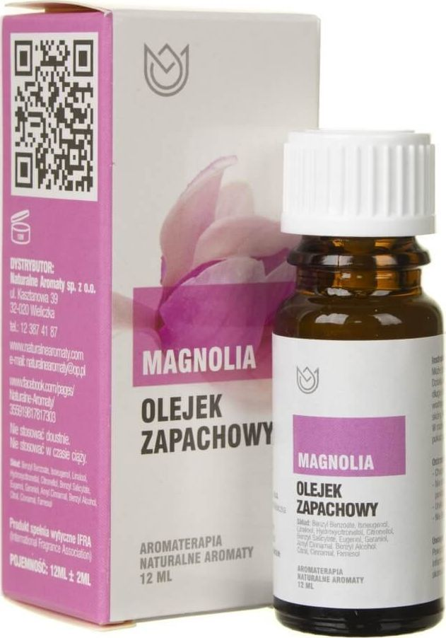 Naturalne Aromaty Naturalne Aromaty olejek zapachowy Magnolia - 12 ml 1