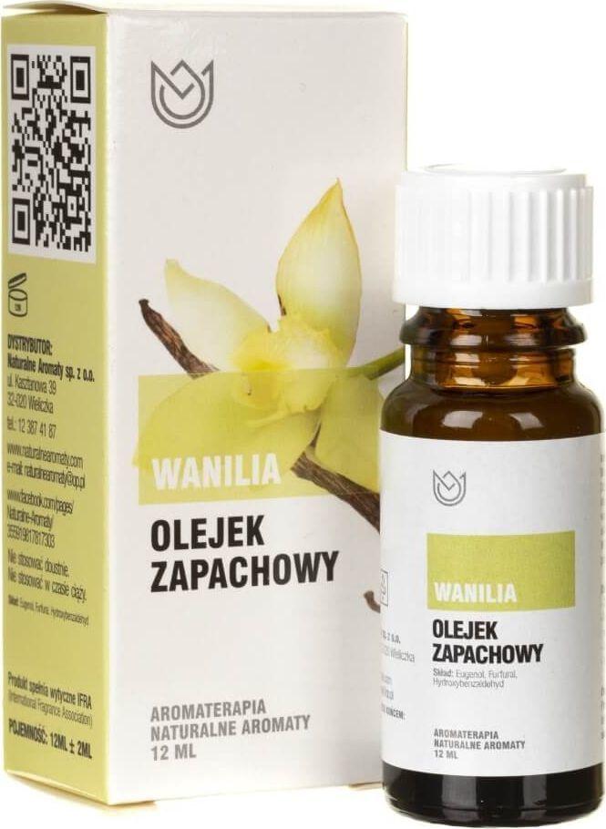 Naturalne Aromaty Naturalne Aromaty olejek zapachowy Wanilia - 12 ml 1