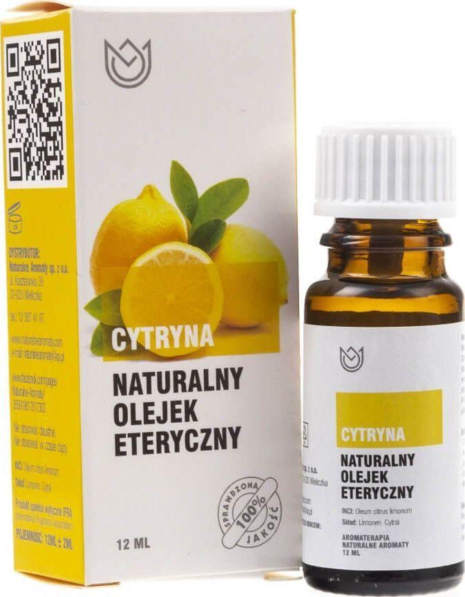 Naturalne Aromaty Naturalne Aromaty olejek eteryczny naturalny Cytryna - 12 ml 1