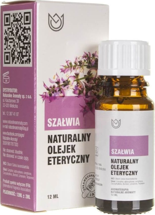 Naturalne Aromaty Naturalne Aromaty olejek eteryczny Szałwia - 12 ml 1