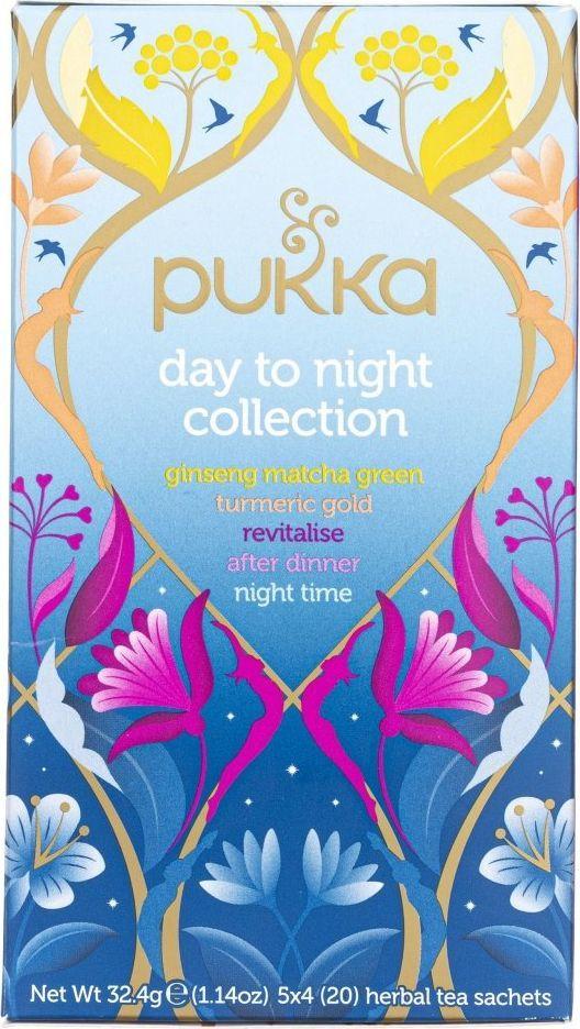 Pukka Herbs Pukka Herbata Day To Night Collection - 20 saszetek 1