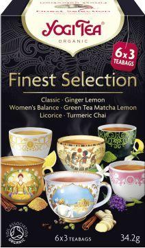 Yogi Tea Yogi Tea Finest Selection Mix herbatek - 18 saszetek 1