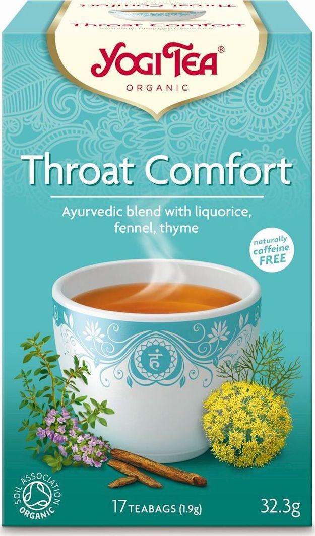 Yogi Tea Yogi Tea Throat Comfort Herbatka na gardło - 17 saszetek 1