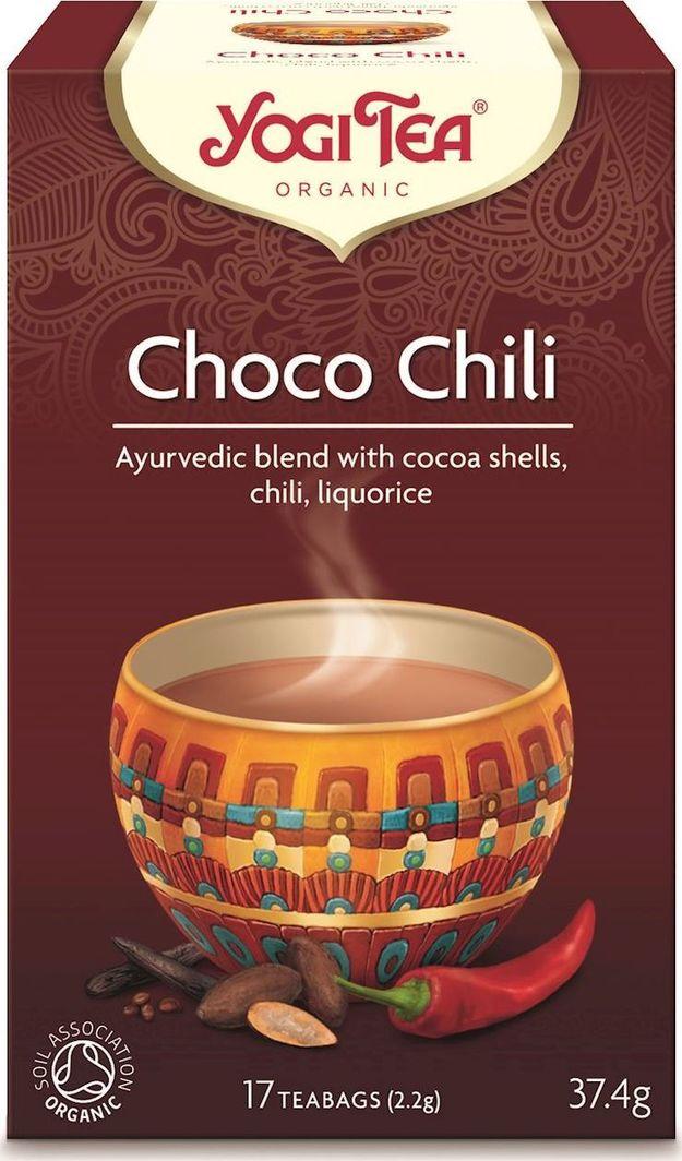 Yogi Tea Yogi Tea Choco Chili Herbatka czekoladowa z chilli - 17 saszetek 1