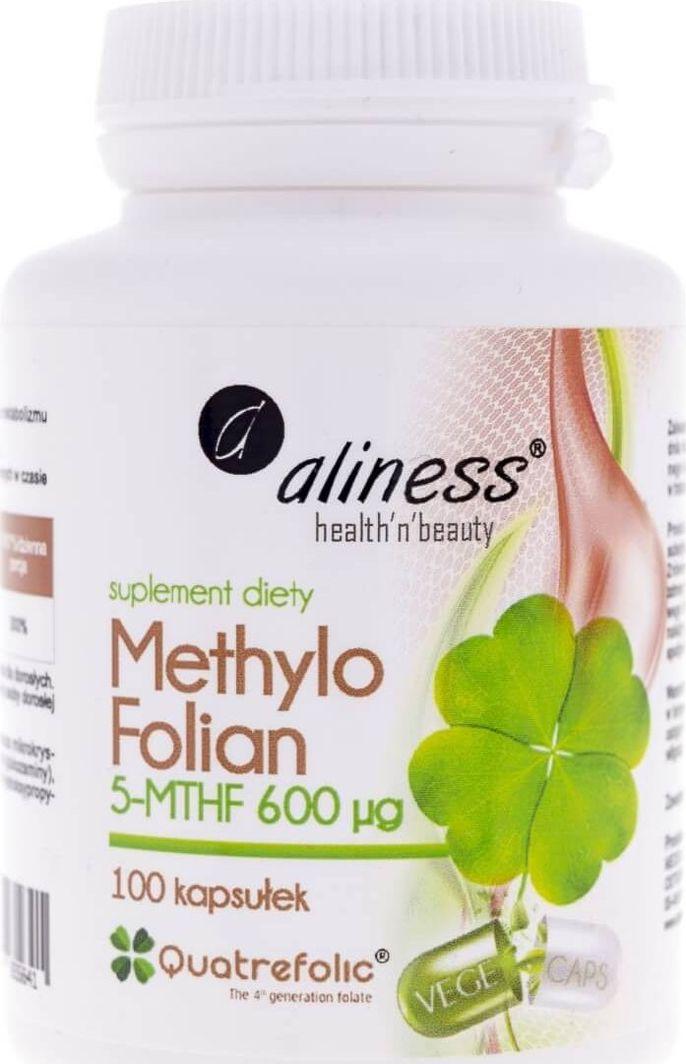 Aliness Aliness Methylo Folian 5-MTHF 600 g - 100 kapsułek 1