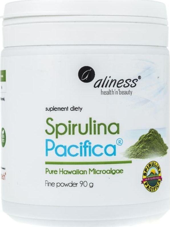 Aliness Aliness Spirulina Hawajska Pacyfica 500 mg - 90 g 1