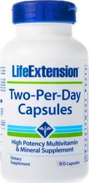 Life Extension Life Extension Two-Per-Day Capsules (Multiwitamina) - 60 kapsułek 1