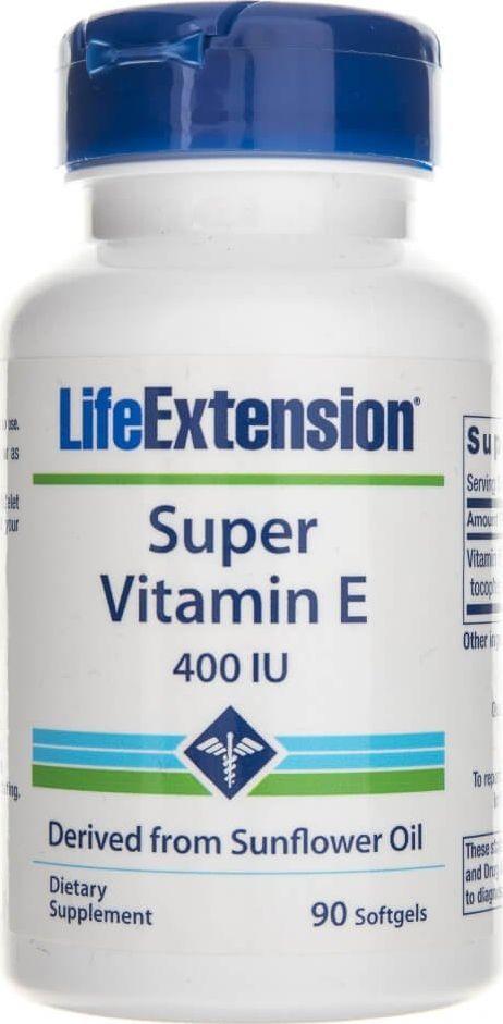 Life Extension Life Extension Witamina E 400 IU - 90 kapsułek 1