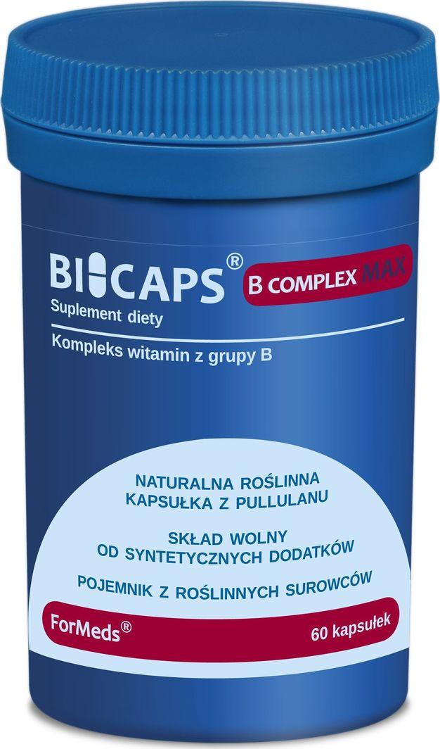 Formeds Formeds Bicaps B-Complex Max - 60 kapsułek 1
