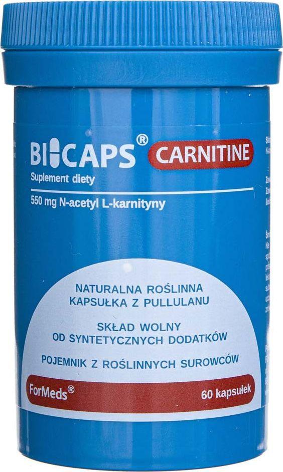 Formeds Formeds Bicaps Carnitine - 60 kapsułek 1