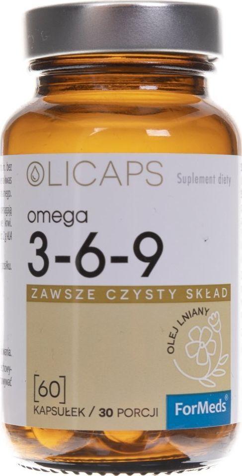 Formeds Formeds Olicaps Omega 3-6-9 - 60 kapsułek 1