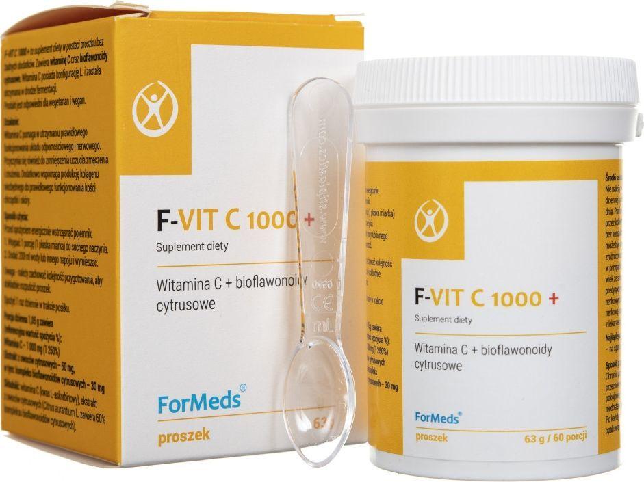 Formeds Formeds F-Vit C 1000+ (witamina C w proszku) - 63 g 1