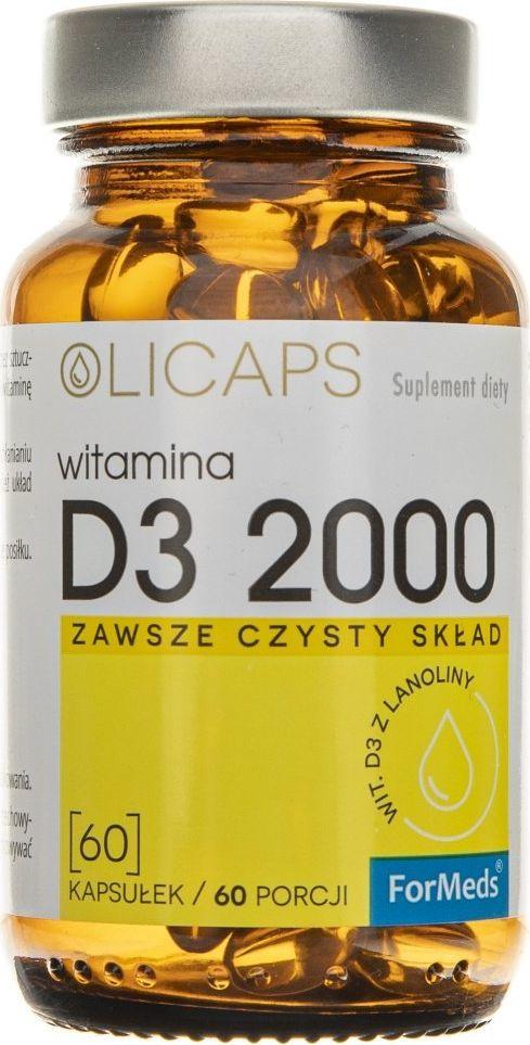 Formeds Formeds Olicaps Witamina D3 2000 - 60 kapsułek 1