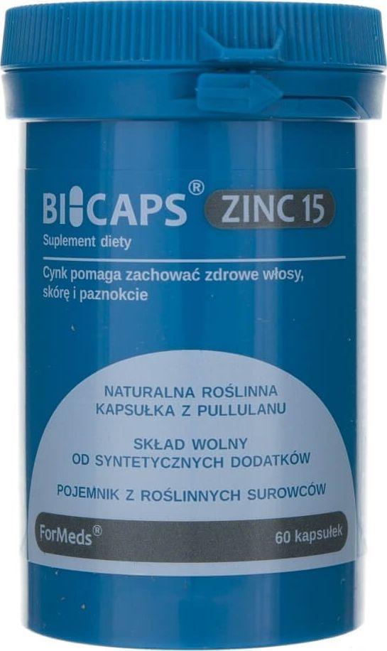 Formeds Formeds Bicaps Zinc 15 (Cynk) - 60 kapsułek 1