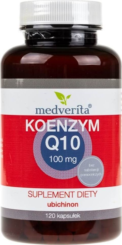 MEDVERITA Medverita Koenzym Q10 ubichinon 100 mg - 120 kapsułek 1