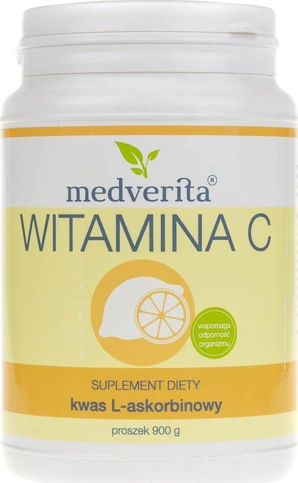 MEDVERITA Medverita Witamina C kwas askorbinowy proszek - 900 g 1