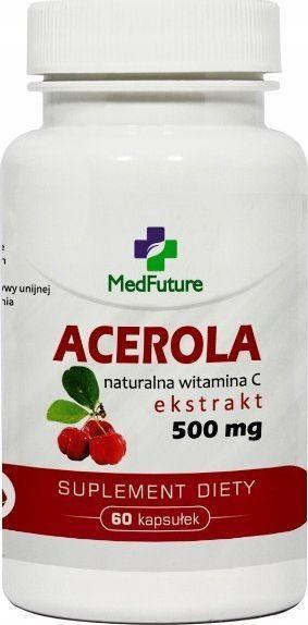 MedFuture MedFuture Acerola 500 mg - 60 kapsułek 1